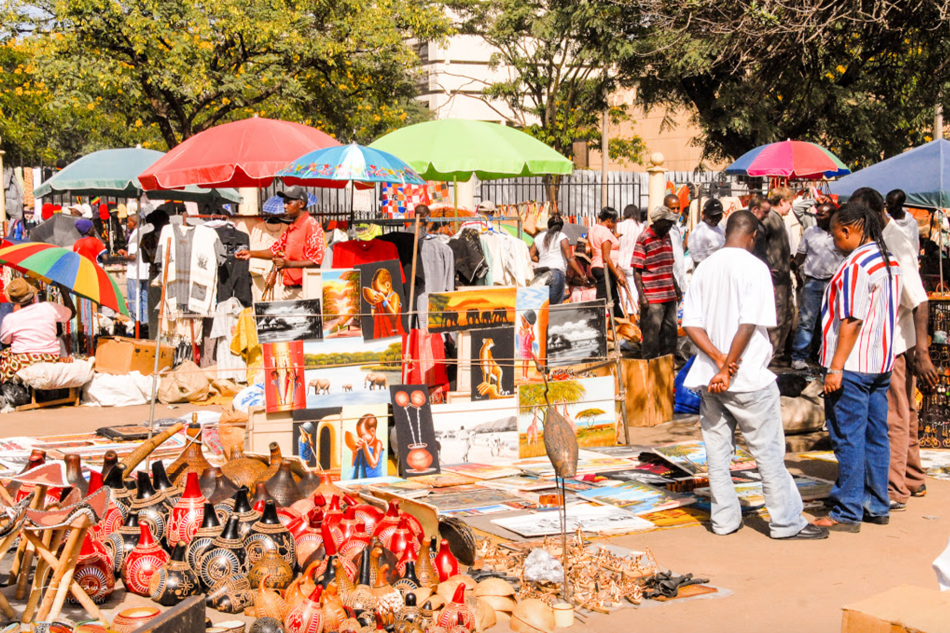 A Guide to The Maasai Market, Nairobi's Flea Market