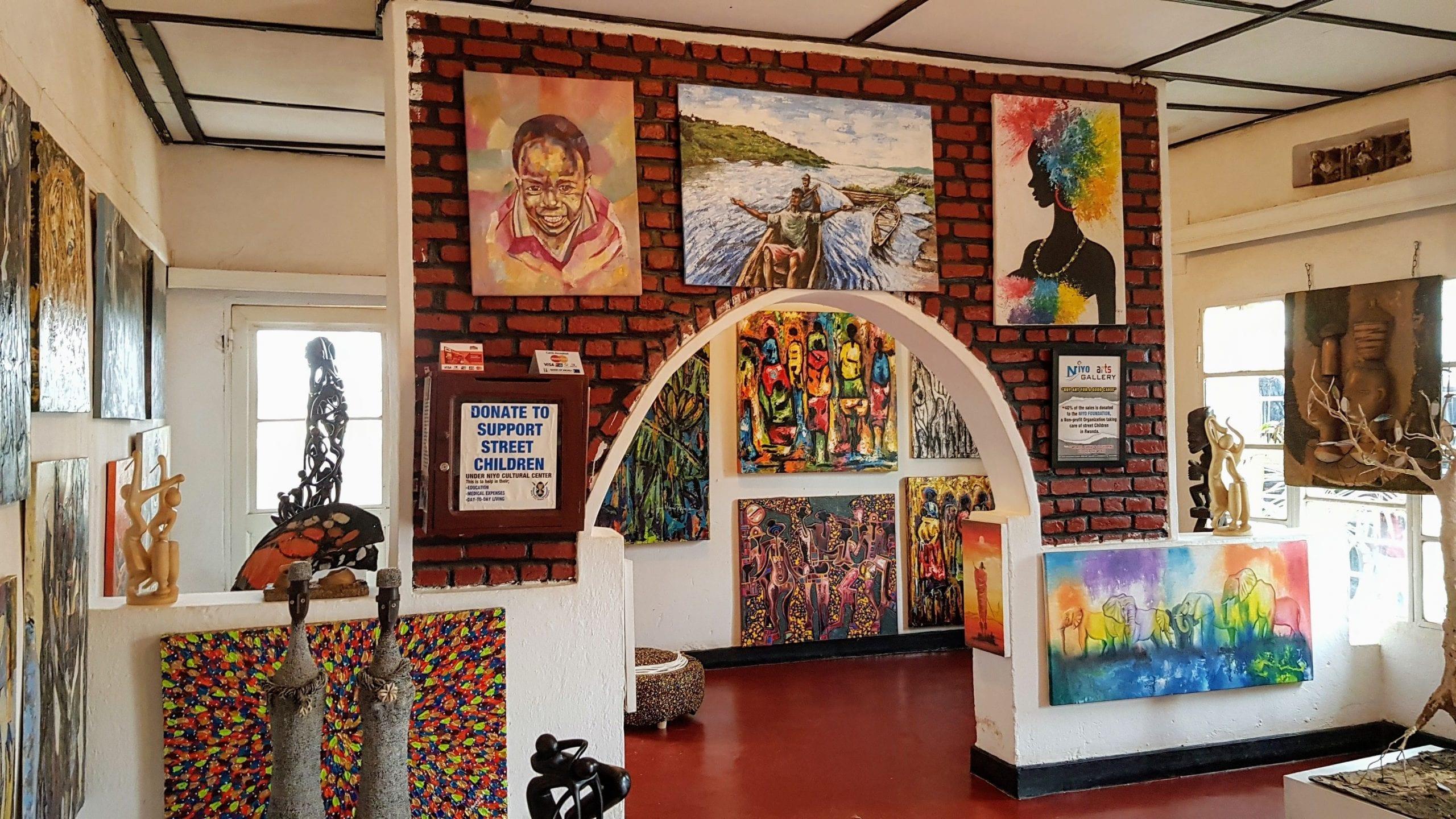 Niyo Arts Gallery Kigali top museums in kigali