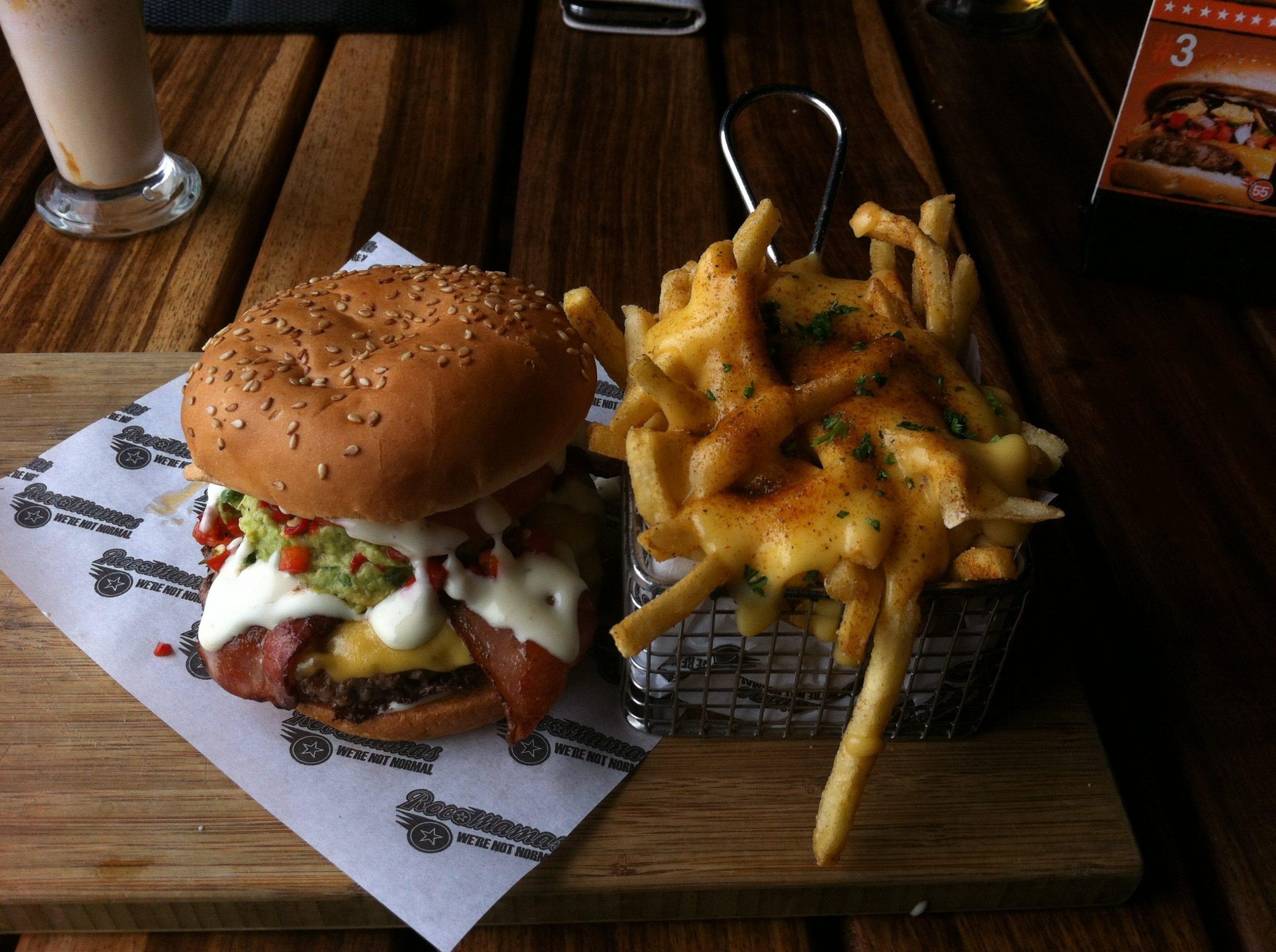 burger places pretoria