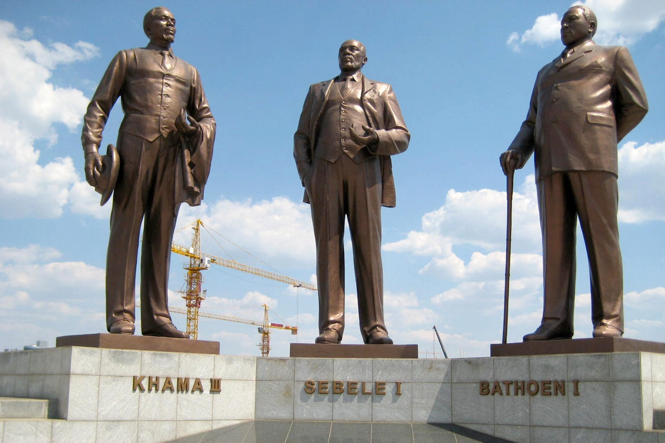 Three Dikgosi Monument Top things to Do in Gaborone