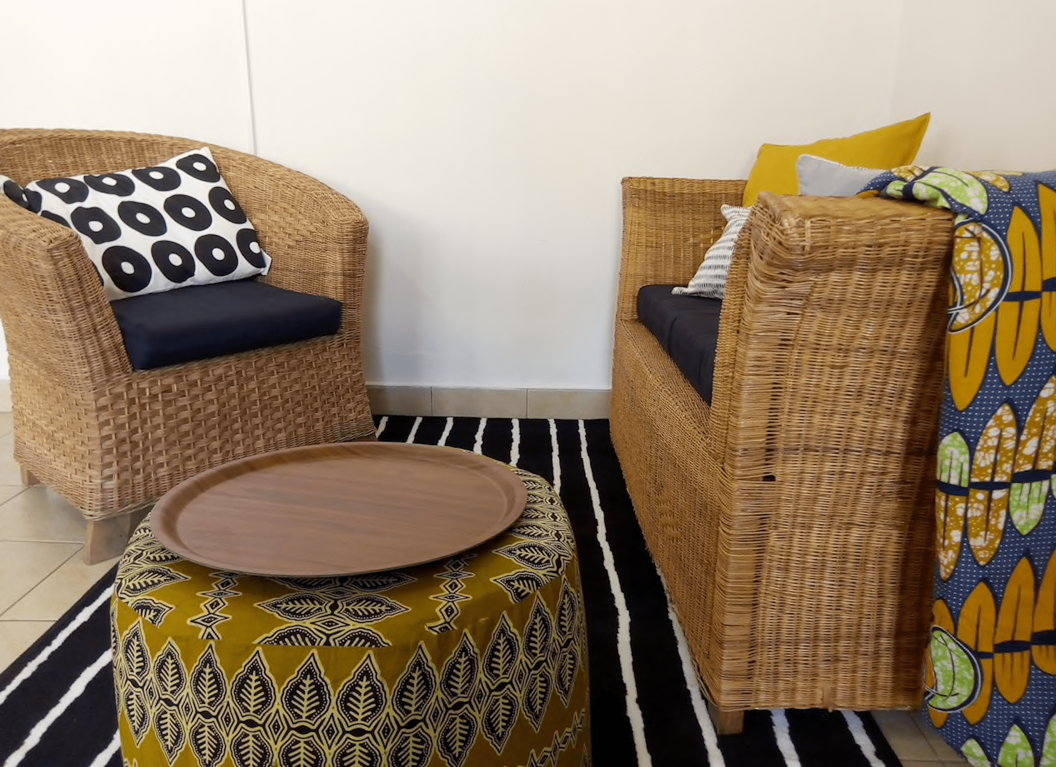 Afro-European Apartment Airbnbs in Lilongwe Malawi