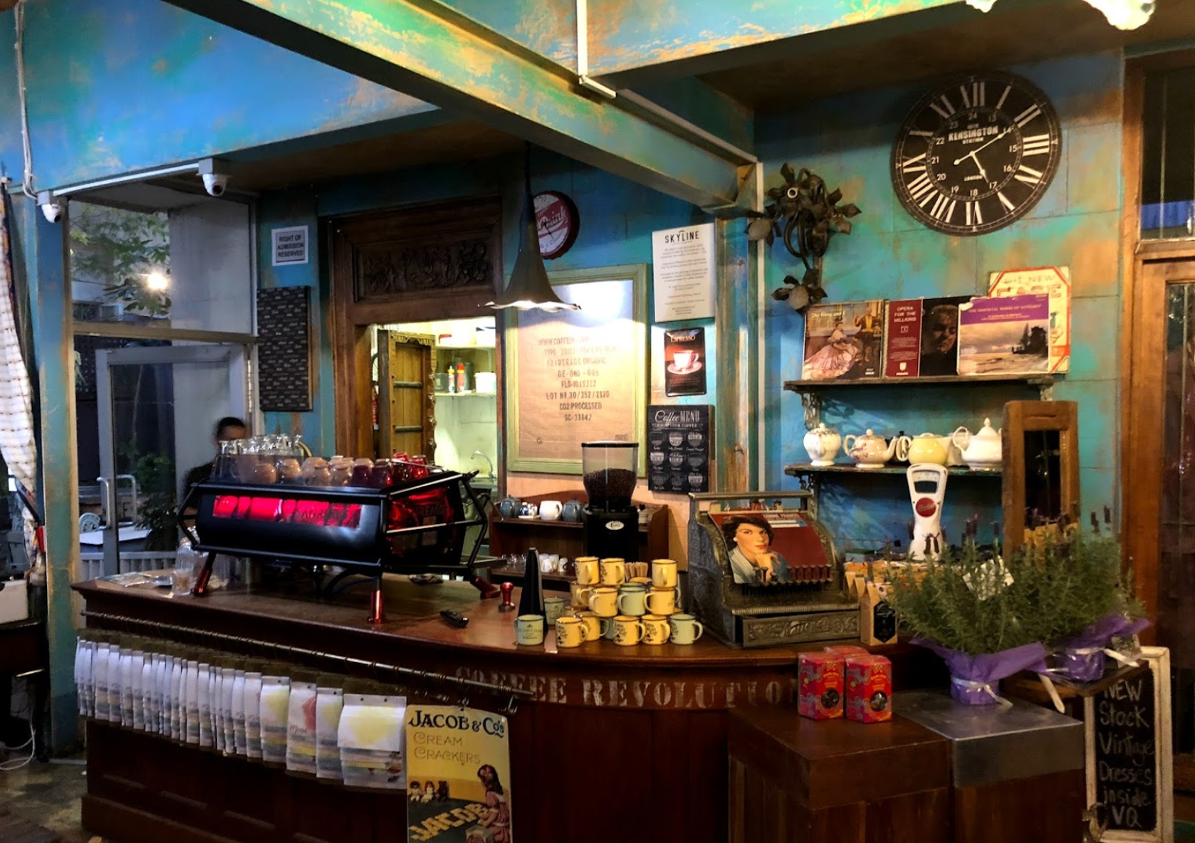 Antique Café Instagrammable coffee shops in Durban