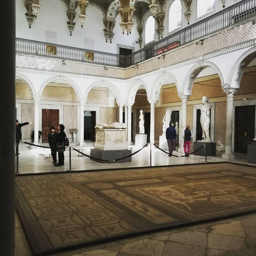 Bardo National Museum in Tunisia