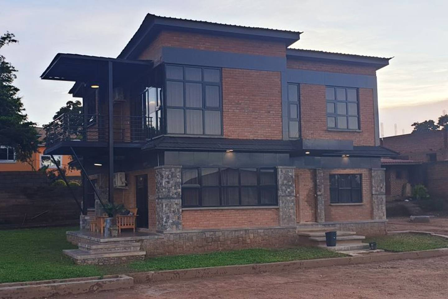 Contemporary House Airbnbs in Lilongwe Malawi