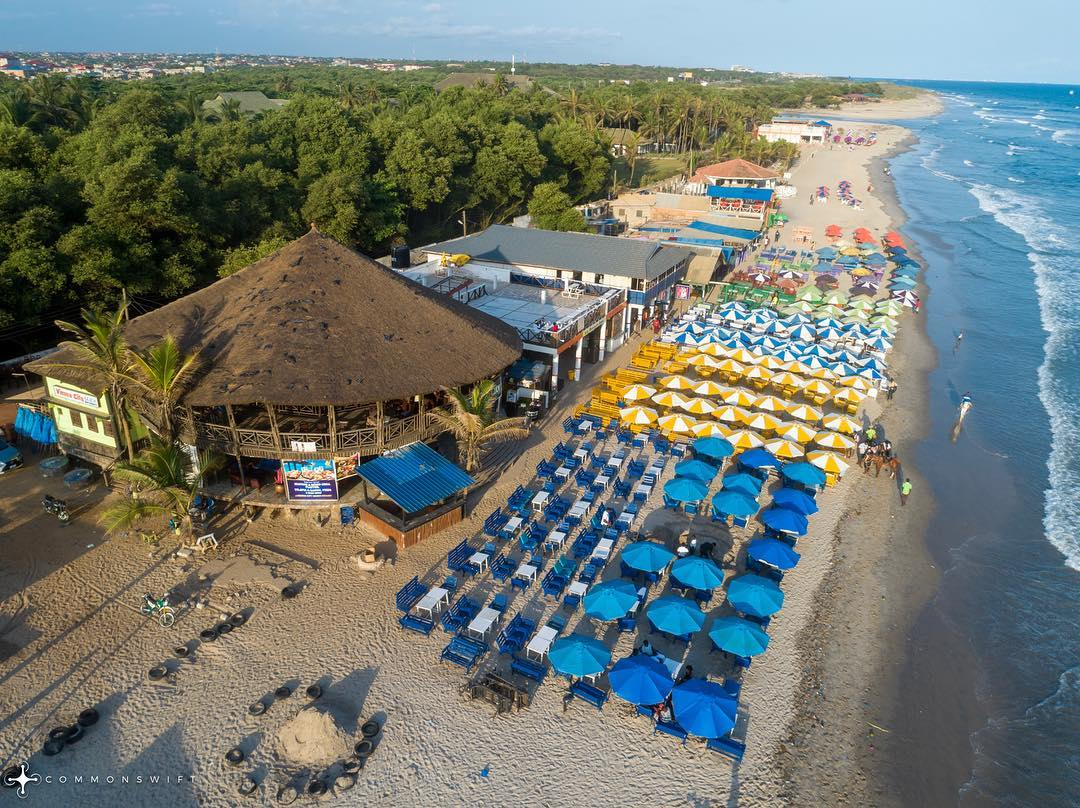 Labadi beach most beautiful beaches in Ghana