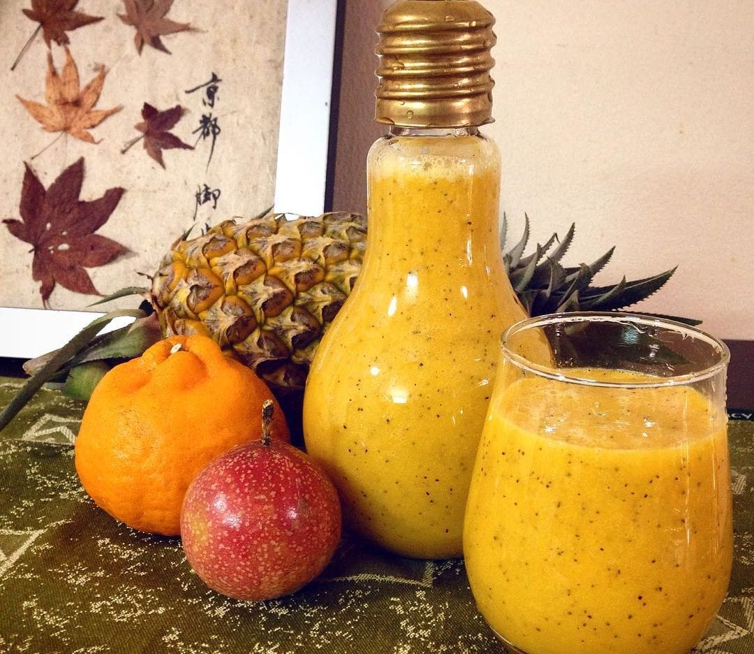 pineapple and passion fruit smoothie recipe