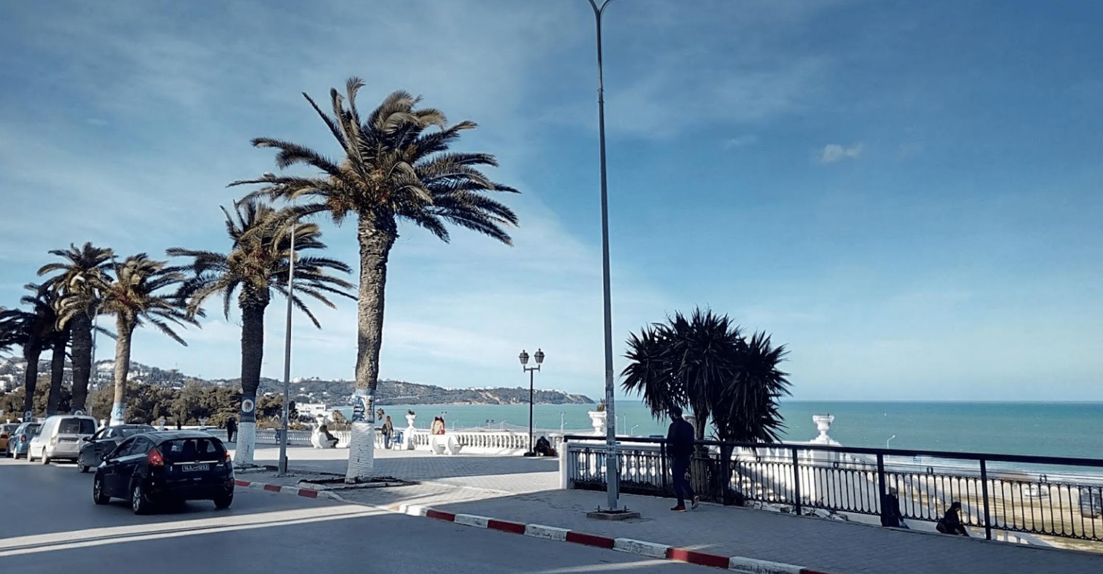 Carthage marsa beach