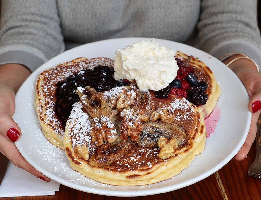 Tasty buttermilk pancakes