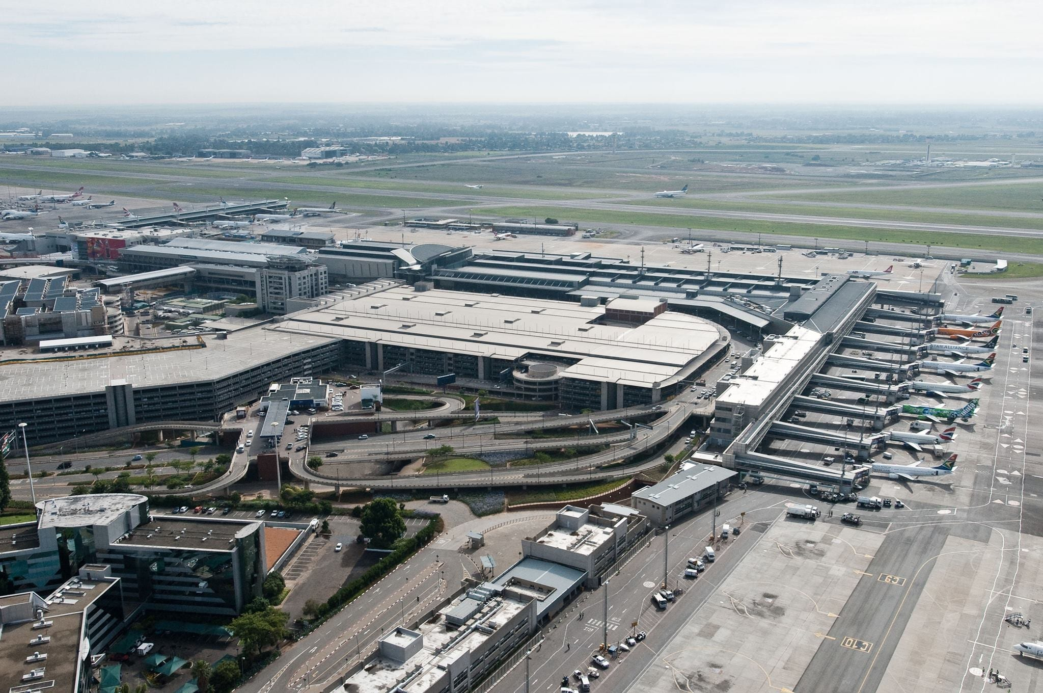 this is the busiest airport in africa