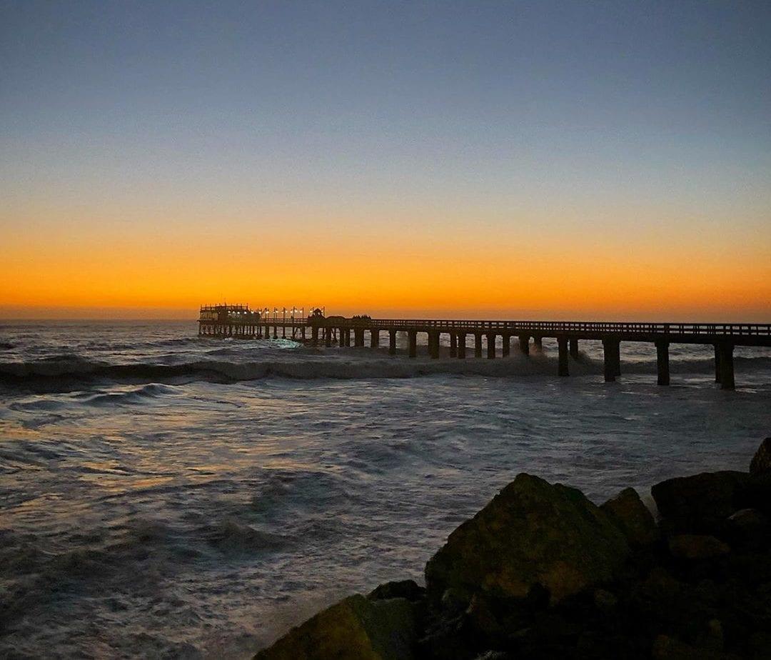 Swakopmund Jetty sunset