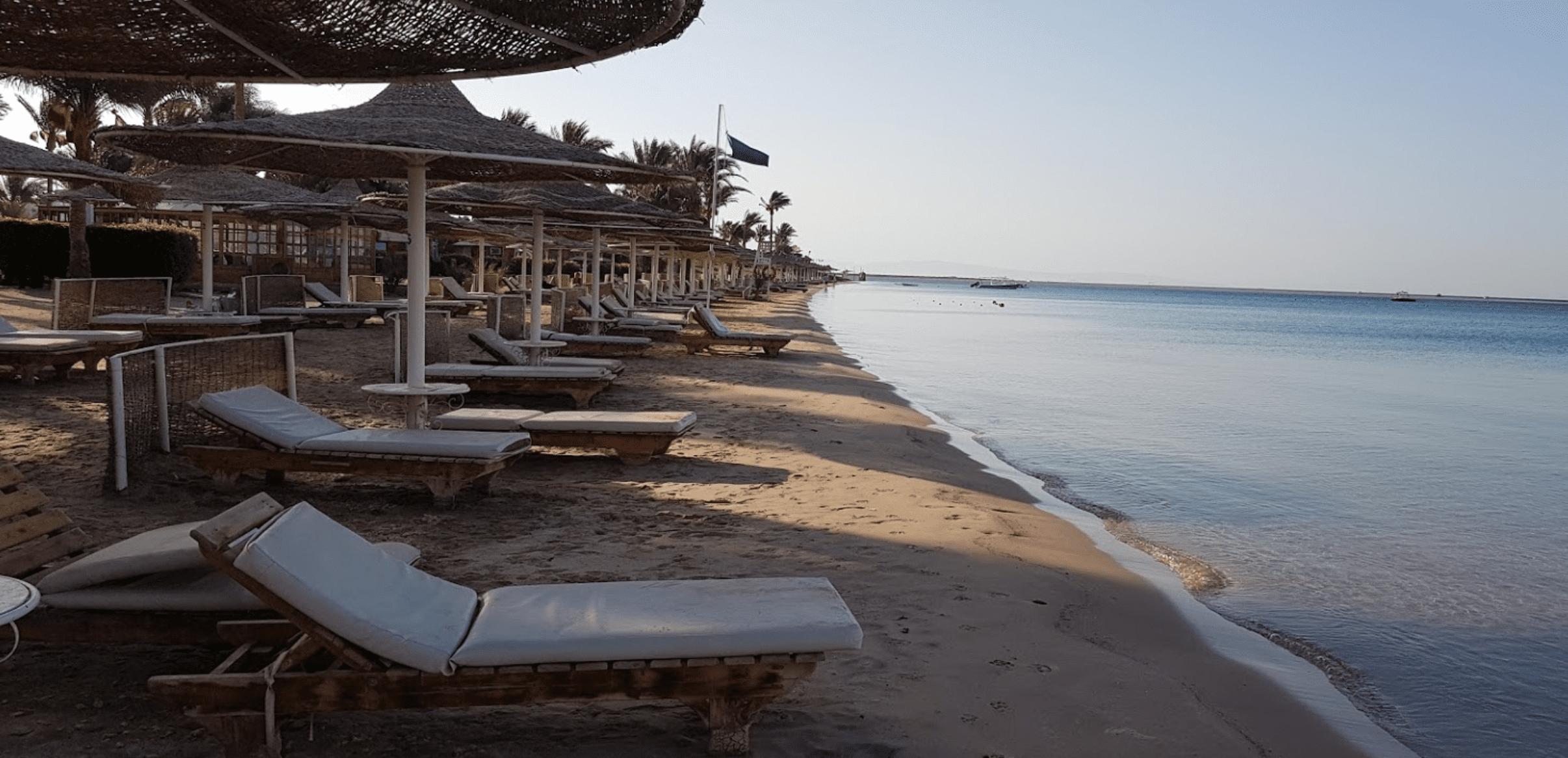 Dahab lagoon beach
