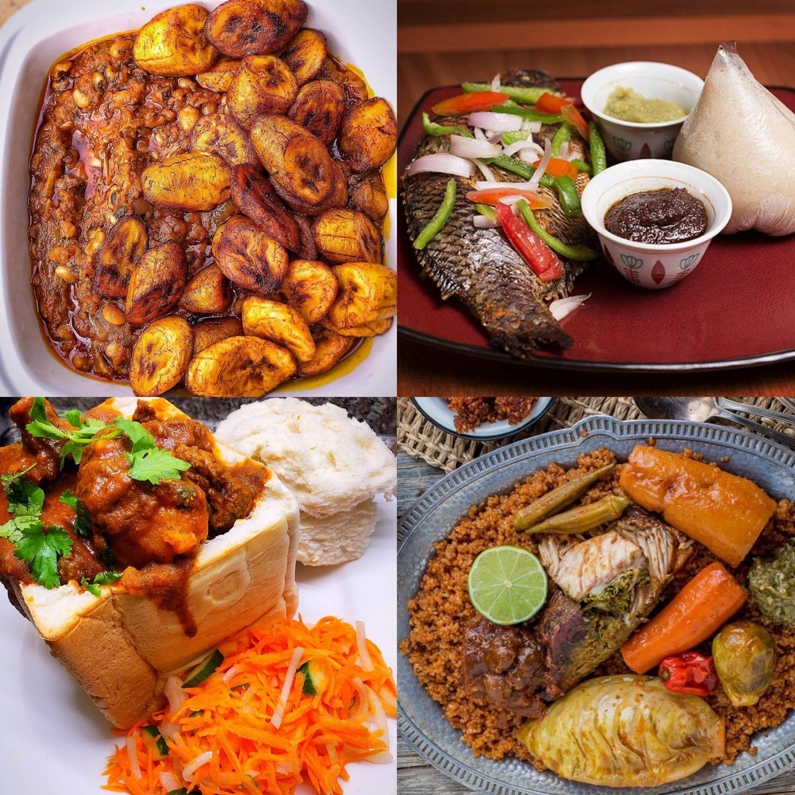 list of traditional African foods