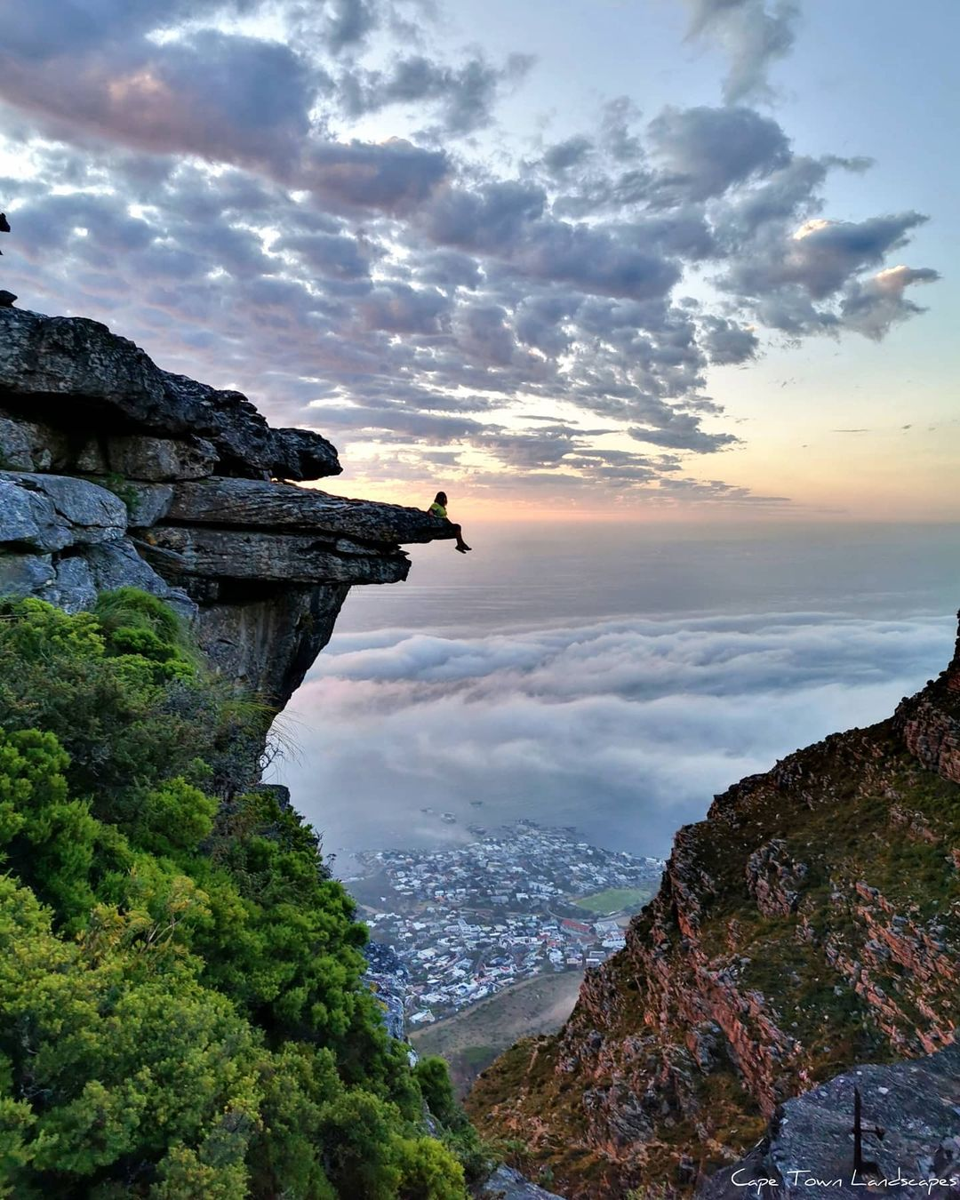 Table Mountain National Park cliff