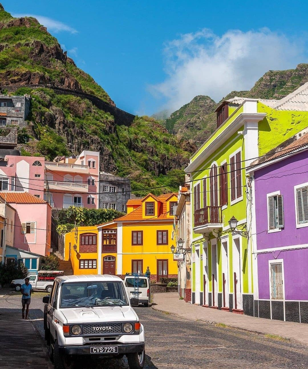 Cape Verde and africa romantic places