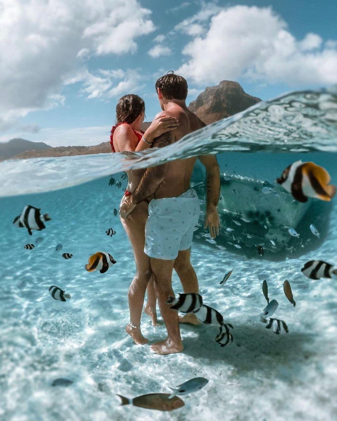 Mauritius and africa romantic places