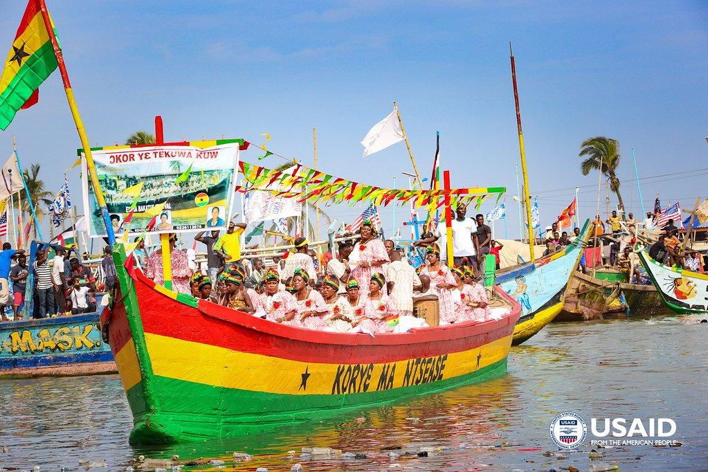 Bakatue Festival Ghana