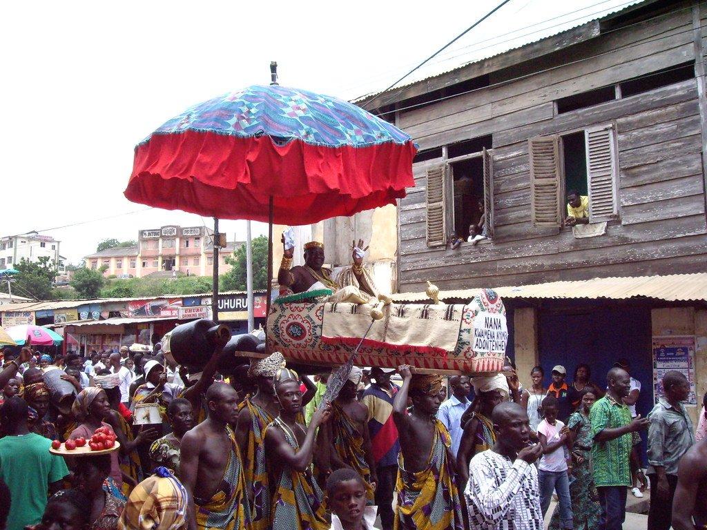 Fetu Afahye festival Ghana