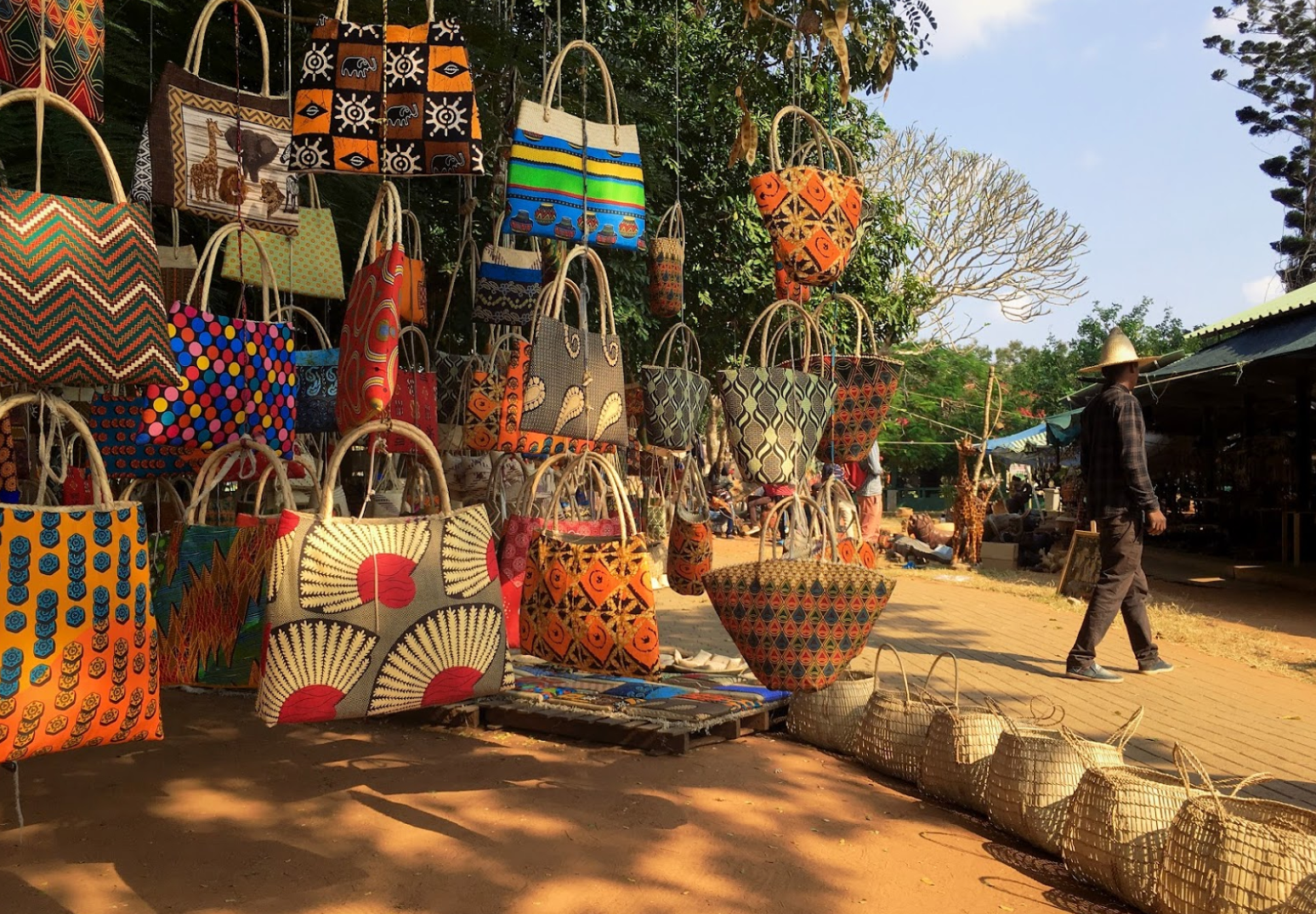 fairground in Maputo