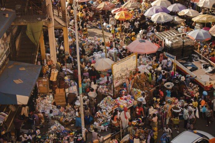 Markets in Accra Ghana