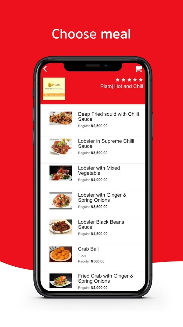 areachops food app