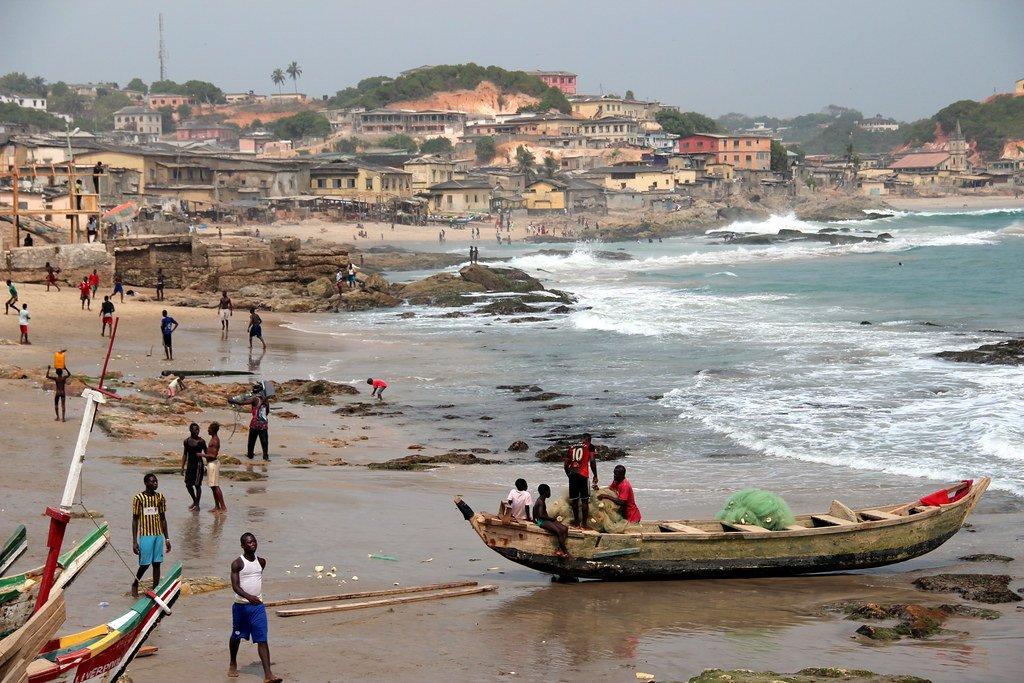 Elmina beach Ghana