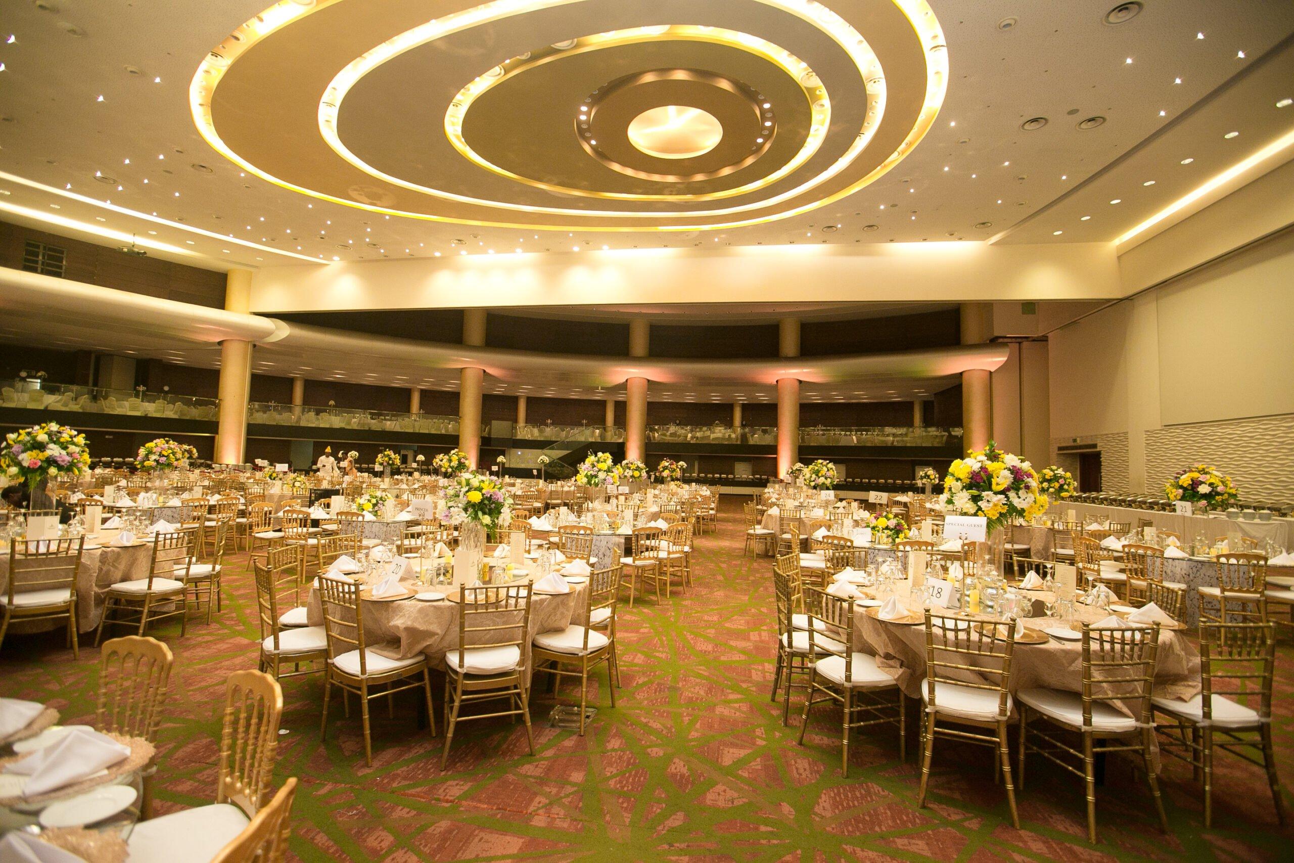 Eko Hotels & Suites on list and address of wedding venues in lagos nigeria
