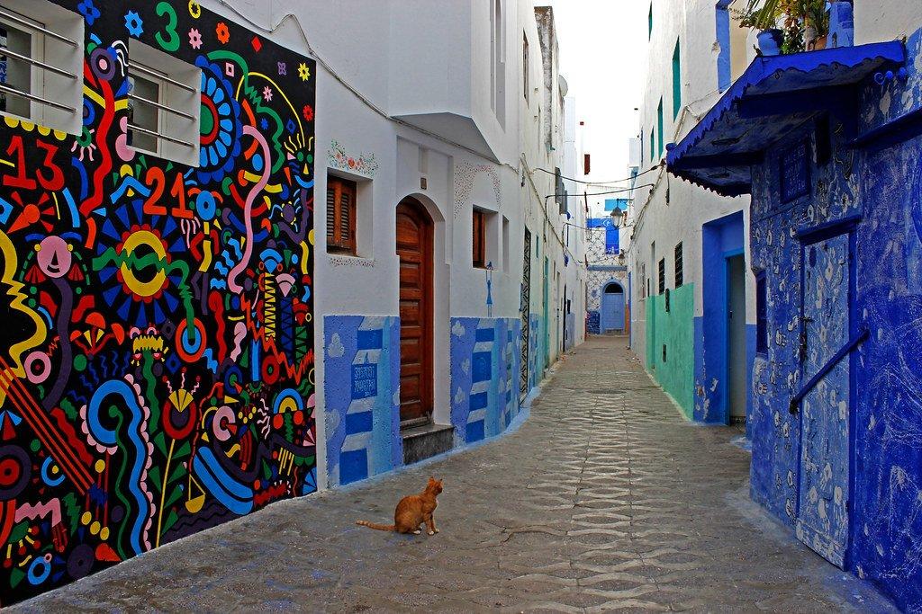Asilah Town Morocco