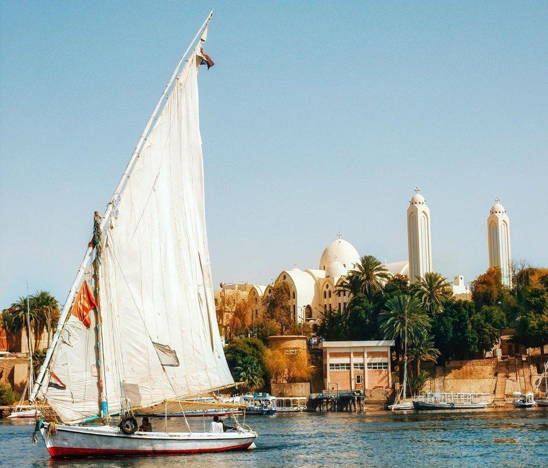 Egyptian city of Aswan