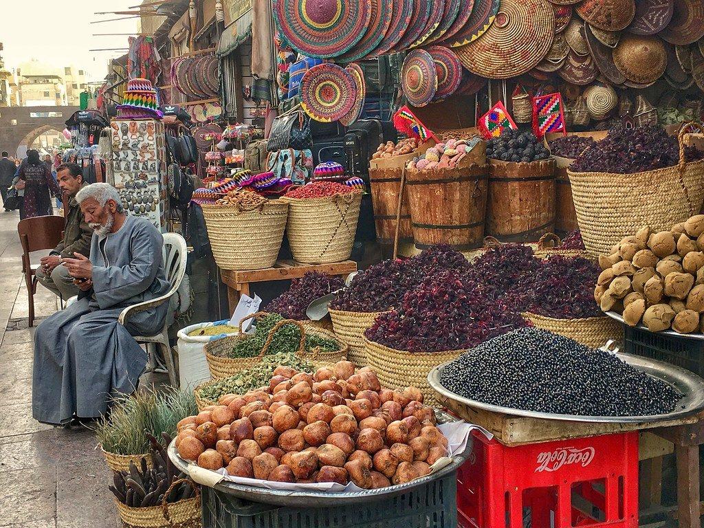 Aswan City in Egypt