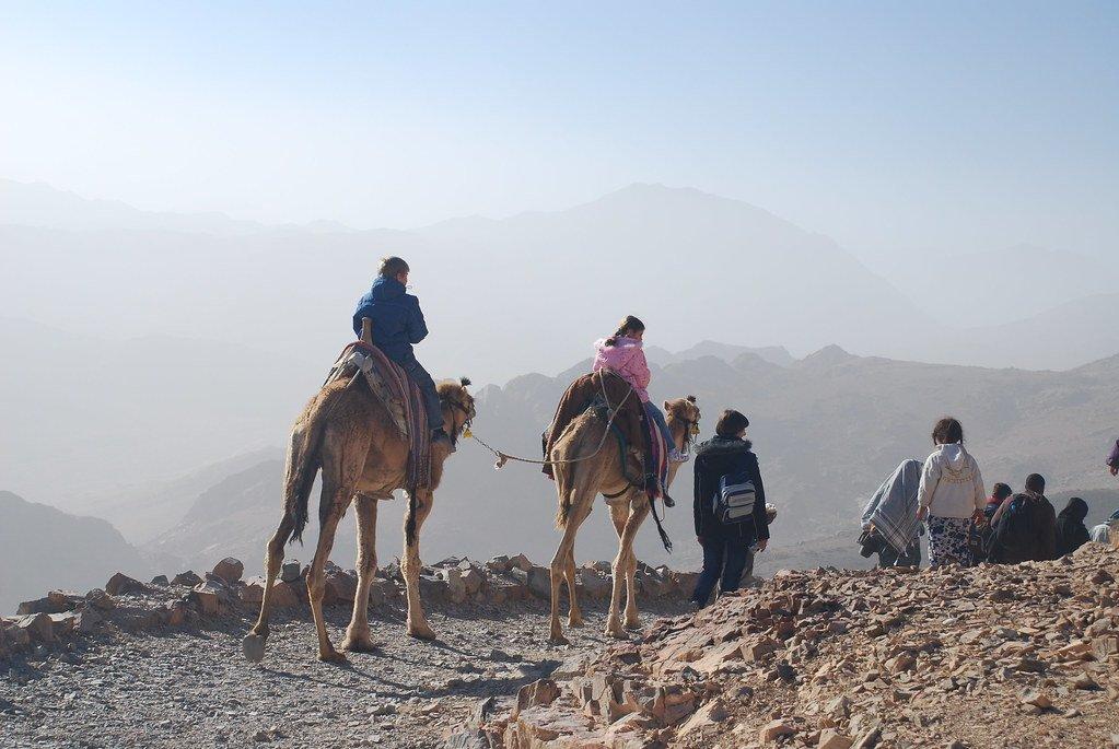 Jabal Mousa Mountain in Egypt