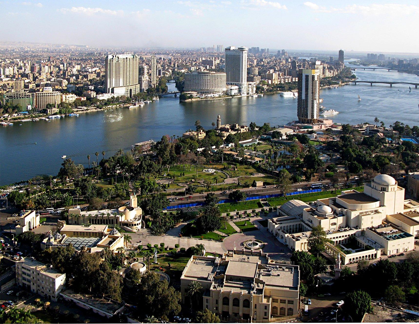 Nile River in Africa
