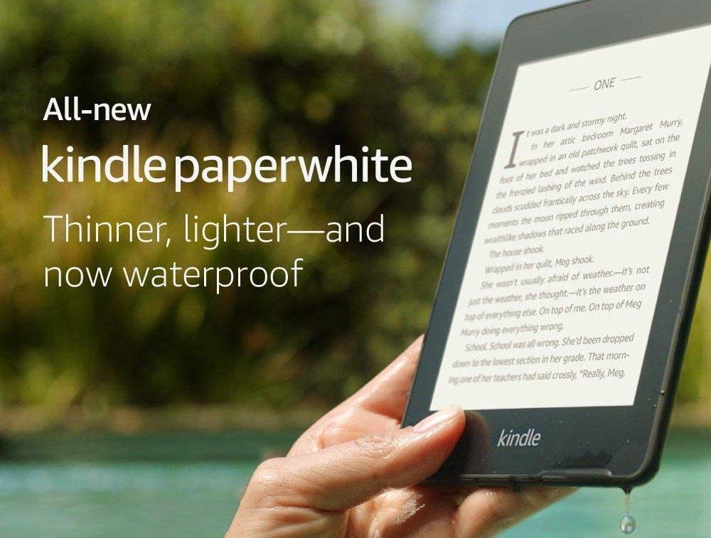 Waterproof e-reader