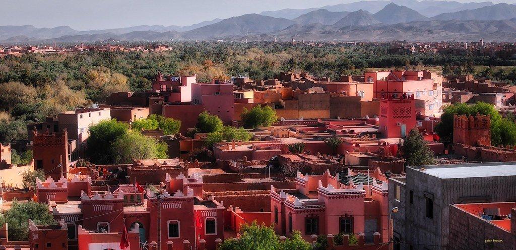 tinghir moroccan town