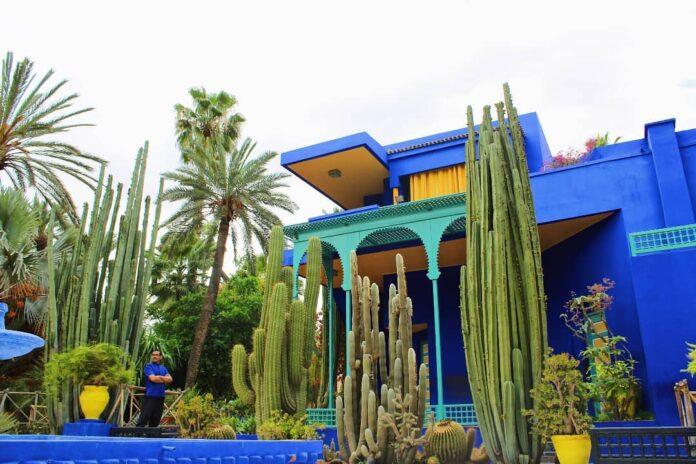 marrakesh botanical garden