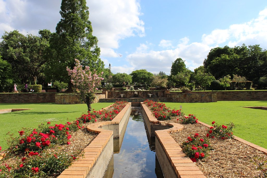 Botanical garden in Randburg