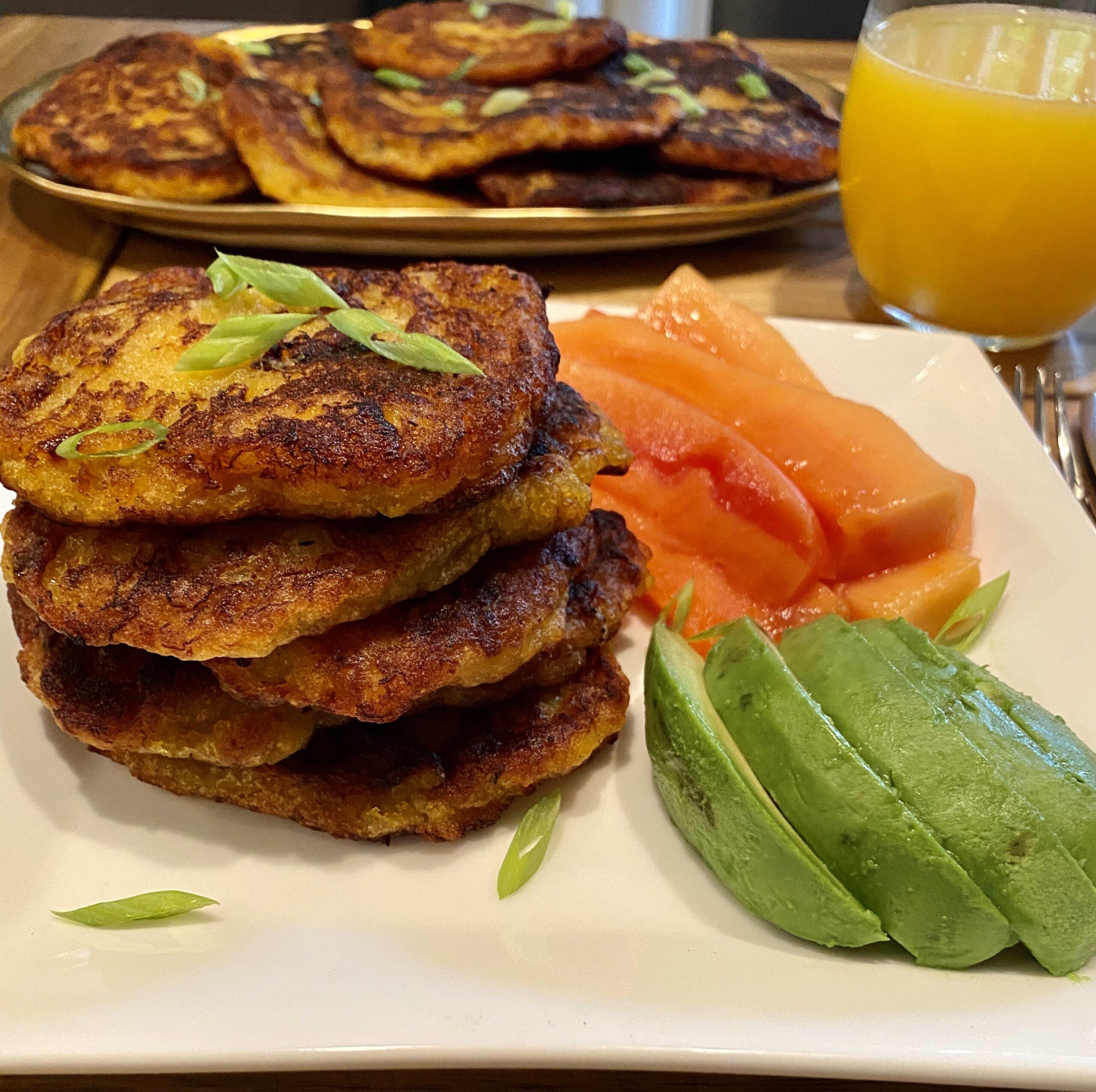 Plantains Pancakes recipe