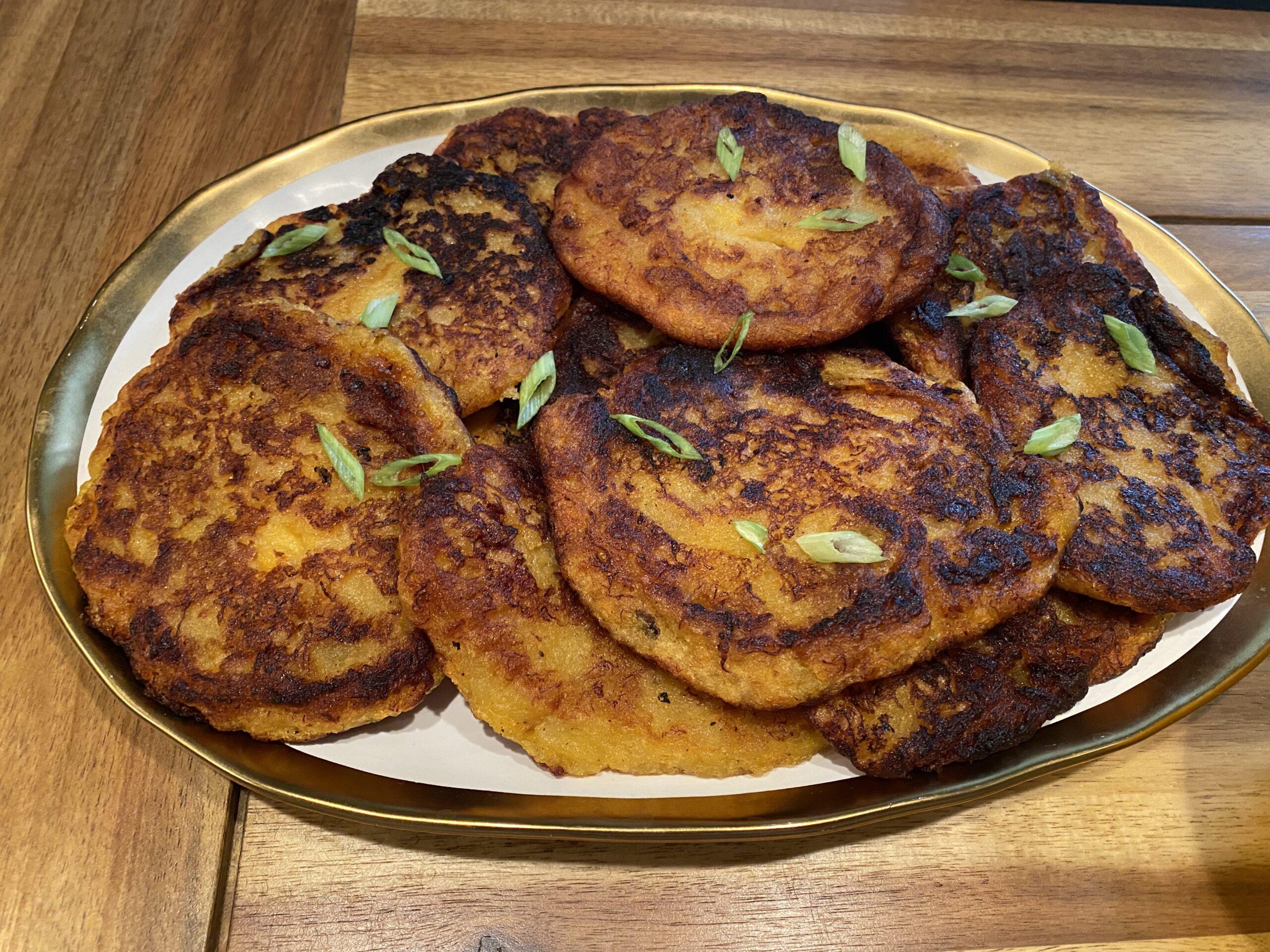 plantain breakfast pancakes