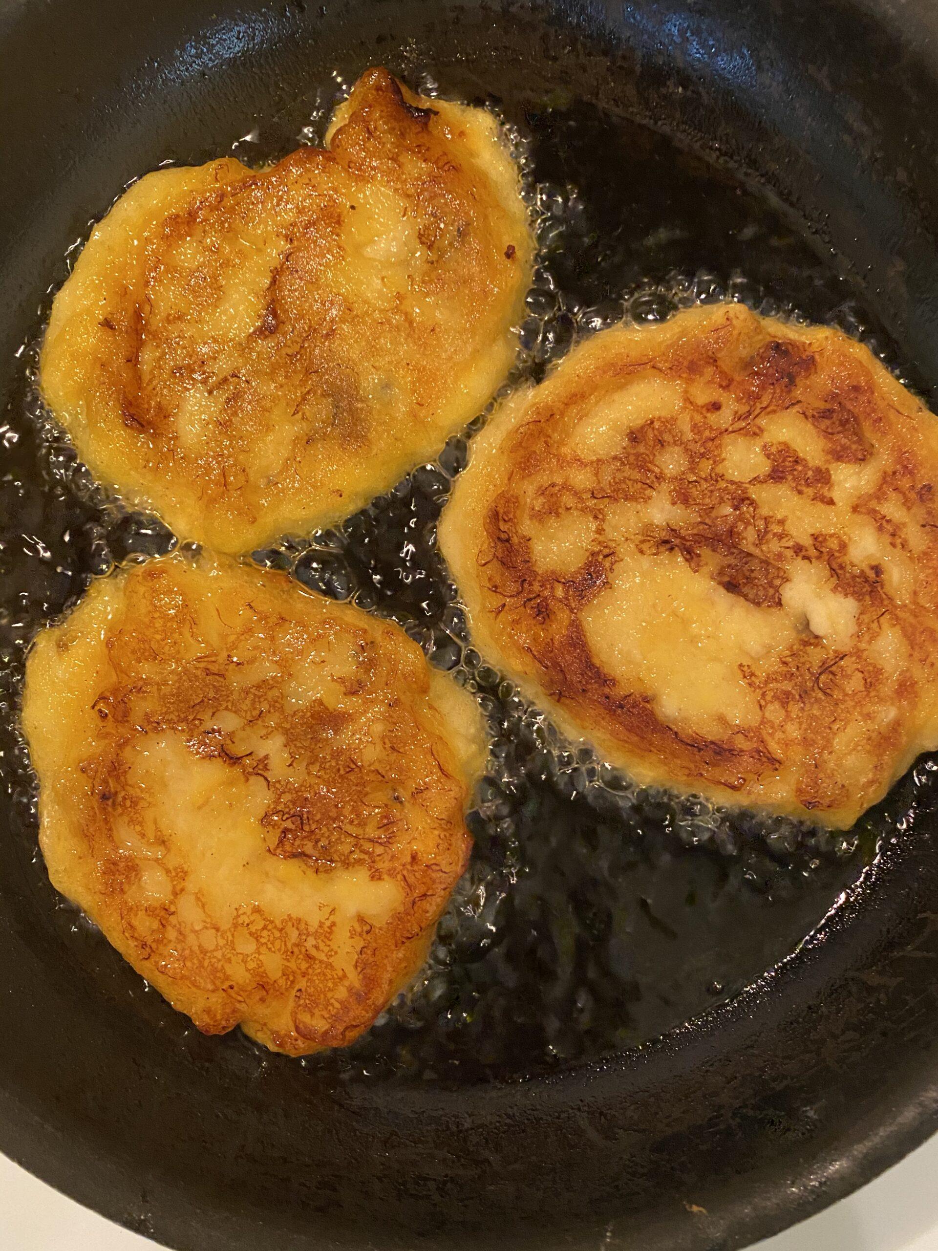 plantain pancake recipe