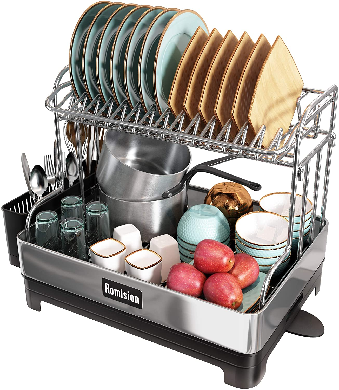 Romision Stainless Steel dish rack