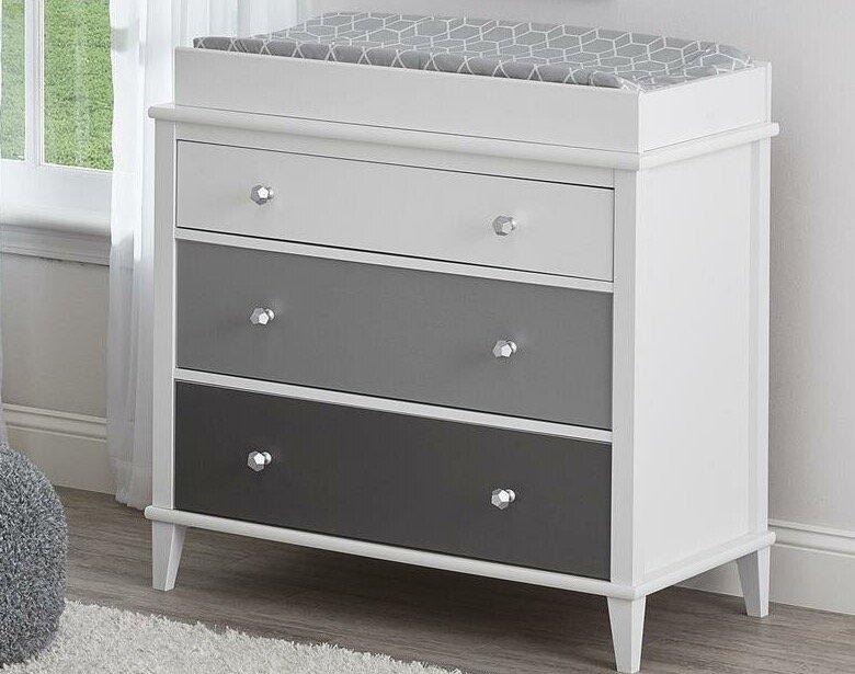 nursery changing dresser