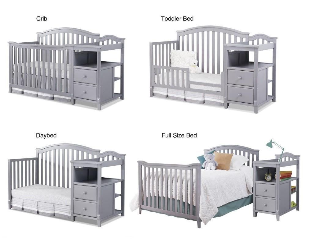 newborn nursery cribs