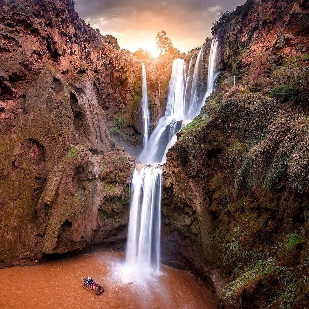 ouzoud falls photography