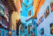 Morocco on list of tourist destinations in africa