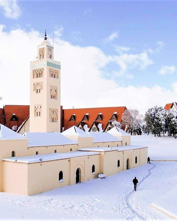 snow Ifrane Morocco