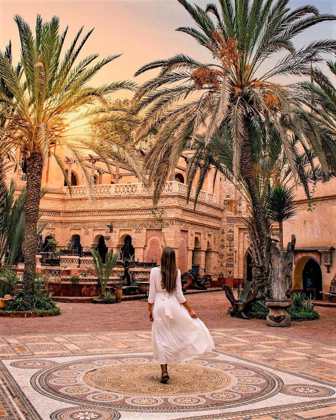 Agadir Morocco sunset