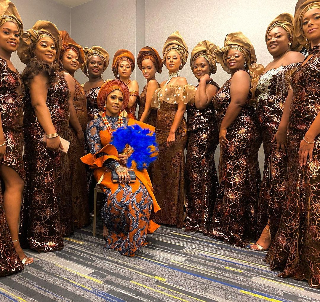 african wedding guest squad