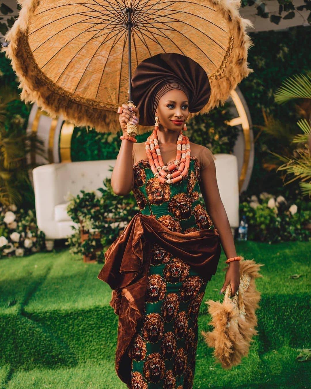 african bridal lookbook