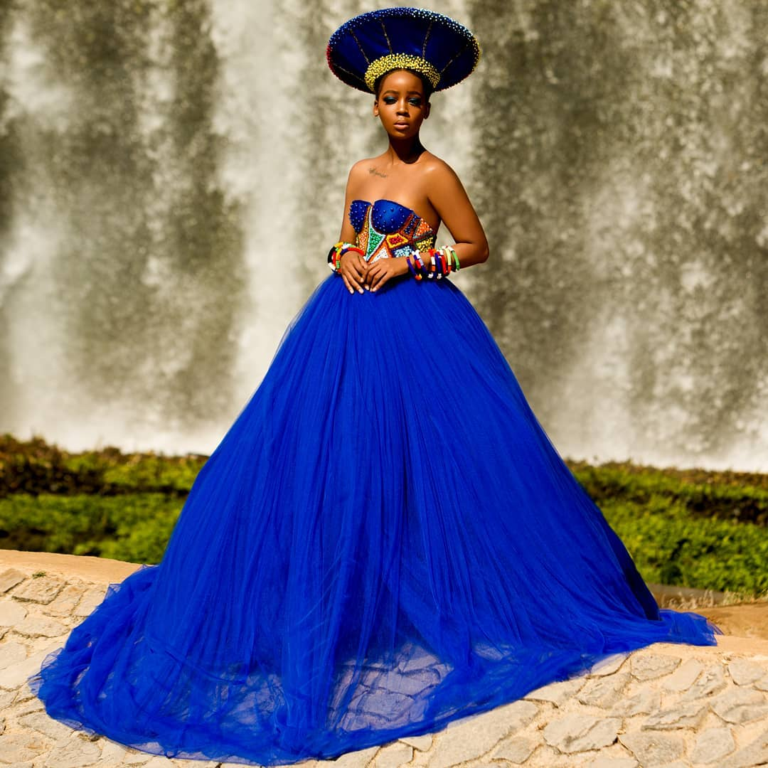 South African wedding outfit