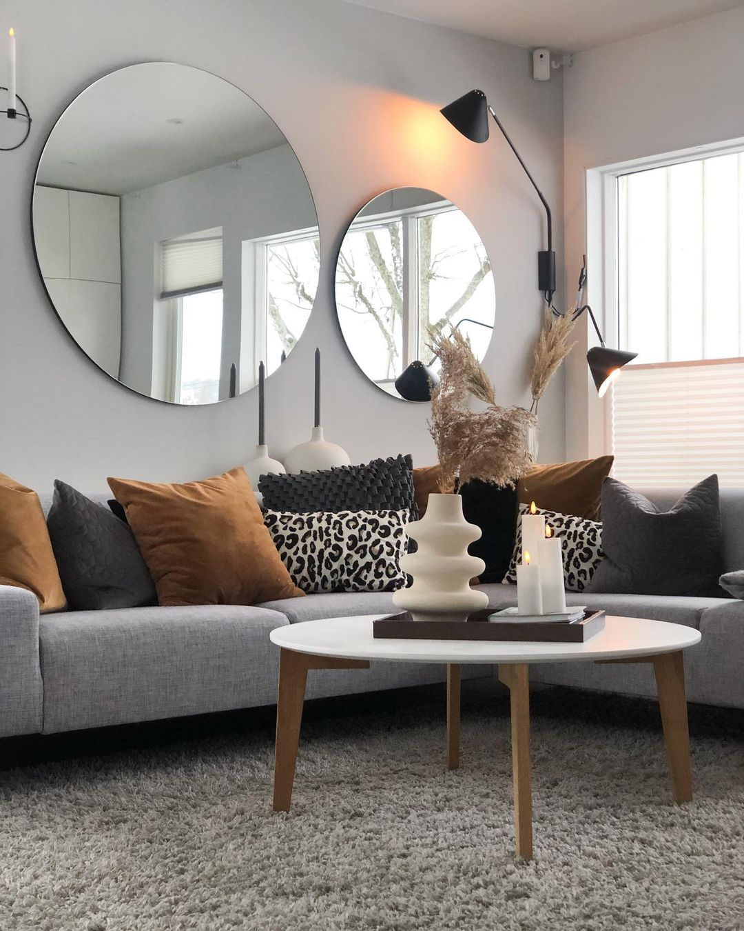 aesthetics geometrical for living rooms