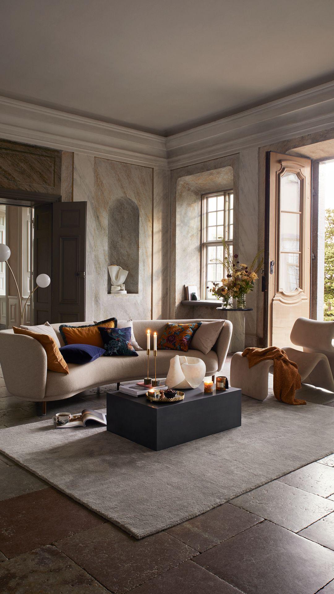 living room grey home decors